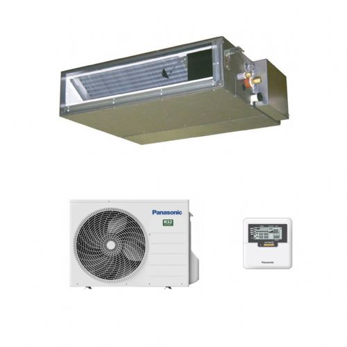 Panasonic Air Conditioning CS-Z25UD3EAW Low Static Ducted Heat Pump R32 2.5Kw/9000Btu A+ 240V~50Hz